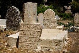 Der islamische Mamilla-Friedhof; Foto: AP