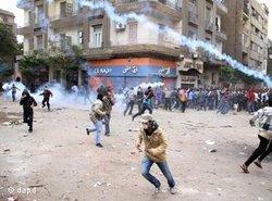Ausschreitungen in Ägypten; Foto: dapd