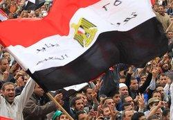 Demonstration am Tahrir-Platz in Kairo; Foto: dpa
