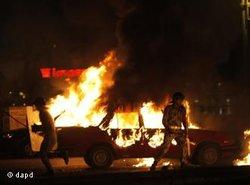 Gewaltsame Auseinandersetzungen in Kairo am 9. Oktober; Foto: dpad