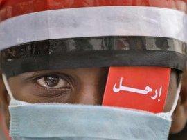 Proteste gegen Saleh in Sanaa; Foto: AP