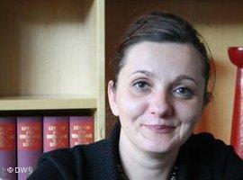 Armina Omerika; Foto: DW