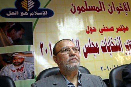 Essam El-Erian von der ägyptischen Muslimbruderschaft; Foto: dpa