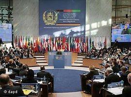 Afghanistan-Konferenz in Bonn; Foto: dapd