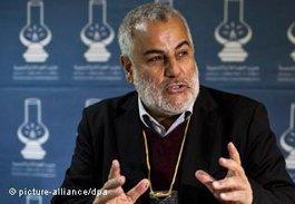 Abdelilah Benkirane von der PJD; Foto: dpa