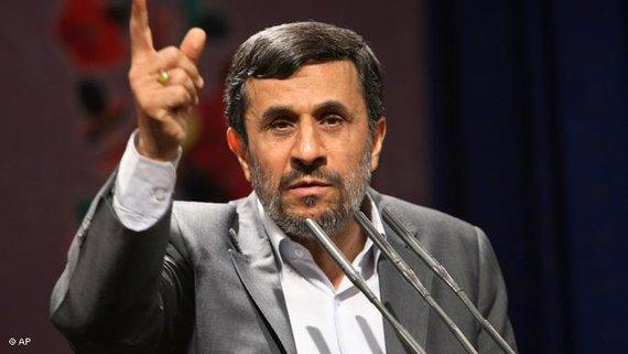 Iranischer Präsident Mahmud Ahmadinejad; Foto: AP