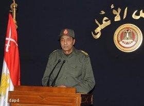 Mohamed Hussein Tantawi, Vorsitzender des Obersten Rats der Streitkräfte; Foto: dapd
