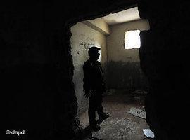 Haftanstalt für politische Gefangene in Benghasi; Foto: dapd