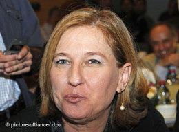 Zipi Livni; Foto: AP
