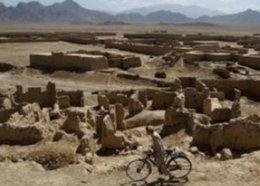 Fahrradfahrer in der Logar-Provinz im Süden Kabuls; Foto: AP