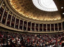 Frankreichs Nationalversammlung; Foto: AP