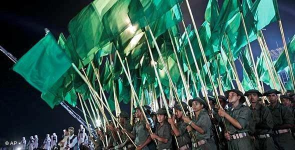 Libysche Militärparade anläßlich des 40. Jahrestages der Machtergreifung Gaddafis; Foto: dapd