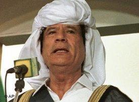 Muammar al-Gaddafi; Foto. dpa