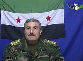 Oberst Riad al Asaad, Foto: dapd