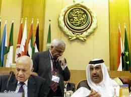 Treffen der Arabischen Liga im November 2011 in Kairo; Foto: dapd