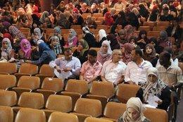 Hörsaal der Universität Tripolis; Foto: privat