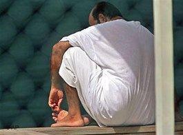 Inhaftierter in Guantanamo; Foto: AP