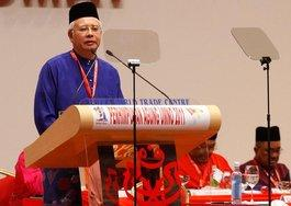 Malaysias Premierminister Najib Razak; Foto: AP