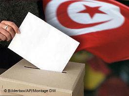 Symbolbild Wahlen in Tunesien; Foto: DW