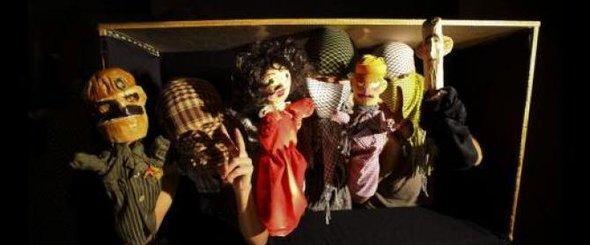 Puppenensemble von Masasit Mati; Foto: youtube