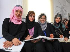 Studentinnen der GUTech in Oman; Foto: &copy, GUtech