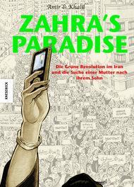 Buchcover der englischen Ausgabe von Zahra's Paradise