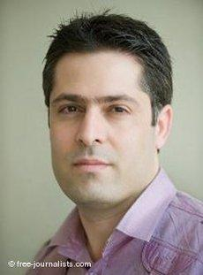 Der iranische Exiljournalist Vahid Pourostad; Foto: free-journalists.com