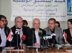 Members of the Syrian National Council (photo: dpa)