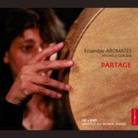 CD-Cover Partage von Michèle Claude