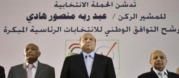 Abed Rabbo Mansur Hadi, Vizepräsident und Präsidentschaftskandidat; Foto: AP/dapd