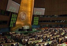 UN-Vollversammlung stimmt zur Syrien Resolution ab; Foto: Reuters