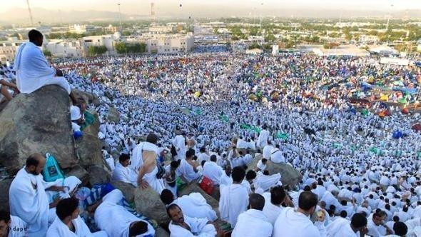 Muslimische Pilger in Mekka; Foto:Hassan Ammar/AP/dapd