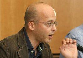 Tsafrir Cohen, Mitglied der Hilfsorganisation Medico International; Foto: DW