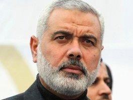 Ismail Hanija auf Staatsbesuch in Istanbul; Foto: Reuters