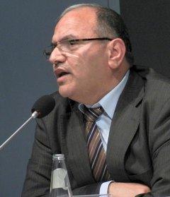 Hani Al Masri, Direktor des Palestinian Center for Policy Research; Foto: Bettina Marx/DW