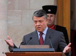 König Abdullah II; Foto: dpa