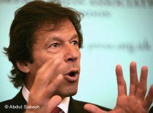 Imran Khan; Foto: Abdul Sabooh/DW