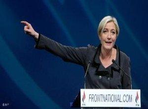 Marine Le Pen; Foto: AP