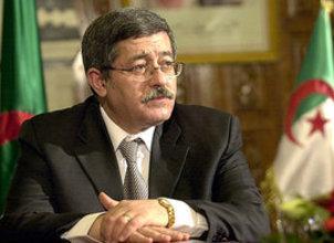 رئيس الوزراء الجزائري الصورة ا ب