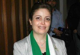 Suheir al-Atassi; Foto: Bettina Marx