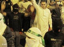 Proteste in Saudi-Arabien während des Arabischen Frühlings im Jahr 2011; Foto: AP