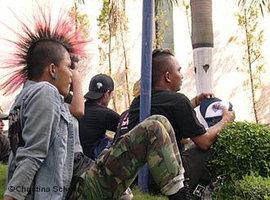 Young Indonesian with a Mohawk