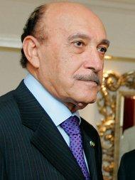 Ägyptens früherer Geheimdienstchef Omar Suleiman; Foto: AP