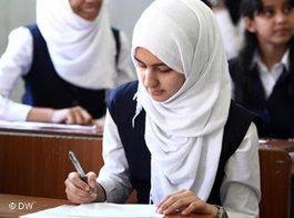 Schülerin in Libyen; Foto: Essam Zuber/DW