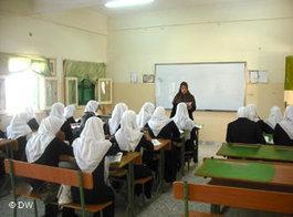 Schule in Tripolis; Foto: DW