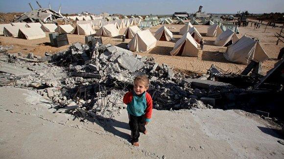 Flüchtlingslager Jabaliya im nördlichen Gazastreifen; Foto: dpa