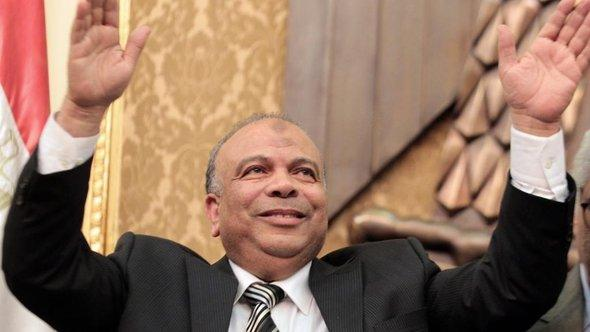 Sprecher der islamistischen Muslimbruderschaft, Saad Al-Katatny; Foto: dpa