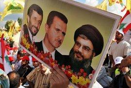 Demonstration der Hezbollah in Beirut; Foto: AP