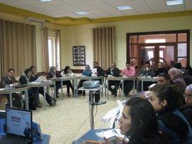 Veranstaltung am Diyar-Konsortium in Bethlehem; Foto: Muhannad Hamed