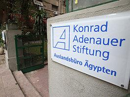 Konrad-Adenauer-Stiftung in Kairo; Foto: AP